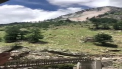 Камнепад в горах