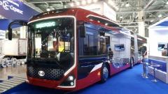 «ПК Транспортные системы» представили на «Комтранс» сочлененный электробус с ночной зарядкой