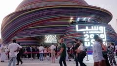 В Дубае стартовала Всемирная выставка Expo-2020 – вот так выглядит российский павильон.