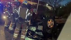 Шесть машин попали в ДТП в центре Магадана из-за поворота не по правилам