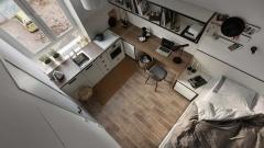 В Москве планируют продавать микро-апартаменты площадью всего 9 «квадратов»
