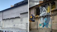 Французский художник создает реалистичные трёхмерные граффити